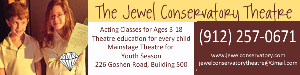 after school kids children theater classes Savannah Pooler Rincon Jewel Conservatory Theatre