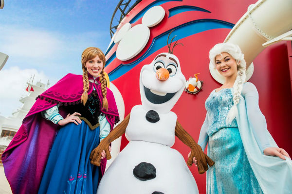 Frozen comes to Disney Cruise Lines