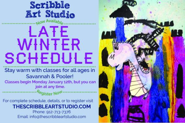 Kids Children's Art Classes Savannah Pooler Scribble Art Studio