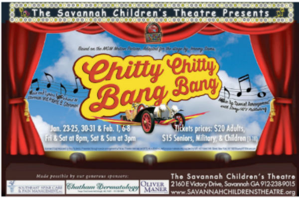 Chitty Chitty Bang Bang Savannah Children's Theatre