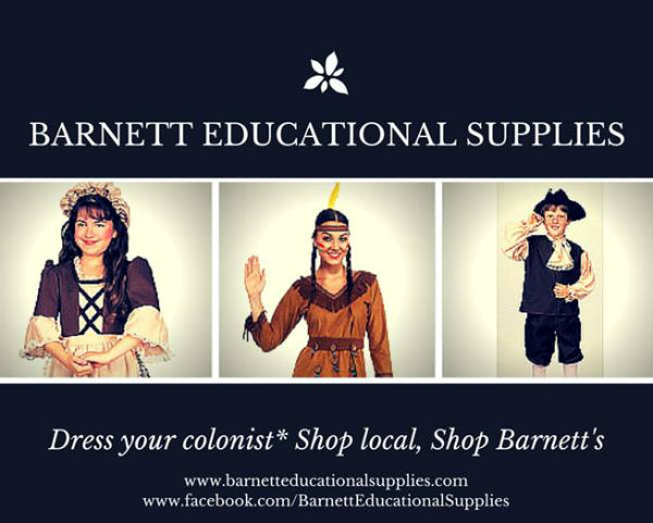 Georgia Day Parade costumes at Barnett Educational Supplies Savannah