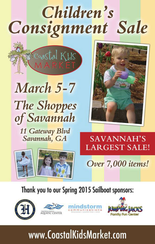 Coastal Kids Market Consignment Sale Savannah Pooler