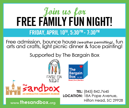Free Family Fun Night Sandbox Children's Museum