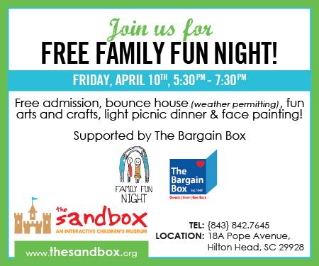 Free Family Fun Night Sandbox Children's Museum
