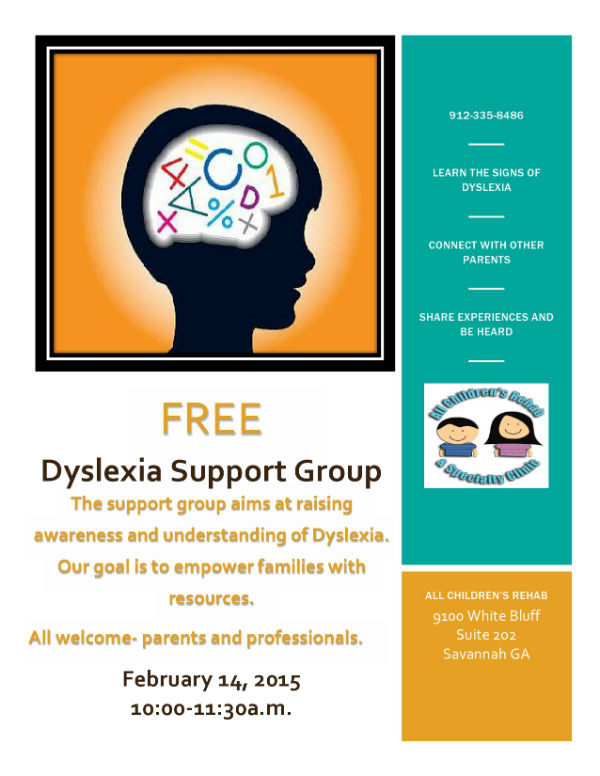 Dyslexia Support Savannah