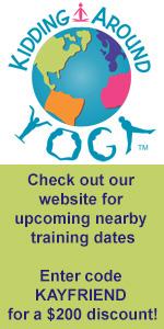 Kidding Around Yoga training in Savannah
