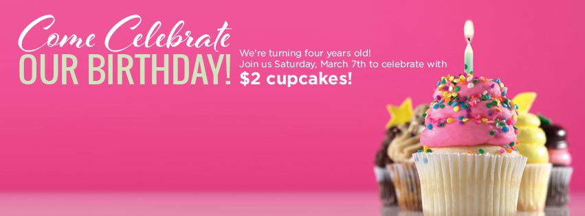 $2 cupcakes at Gigi's Savannah March 7