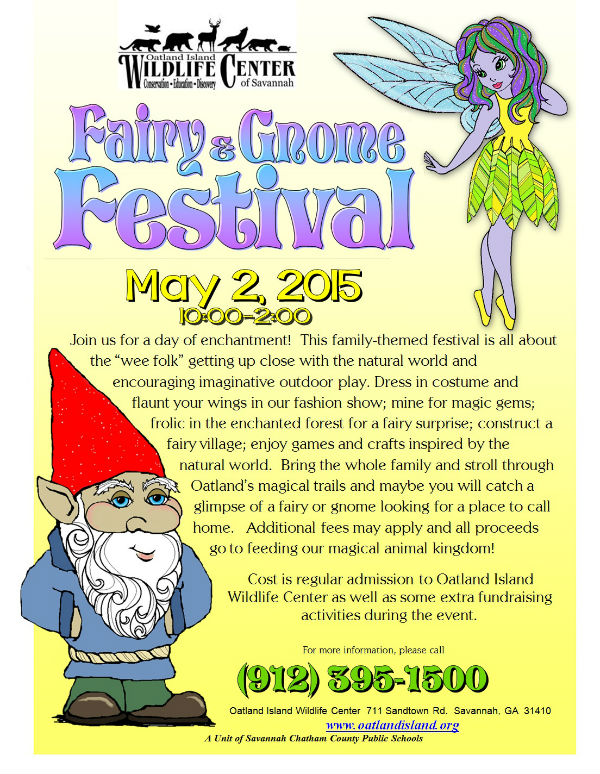 Fairy and Gnome Festival Oatland Island Wildlife Center 2015