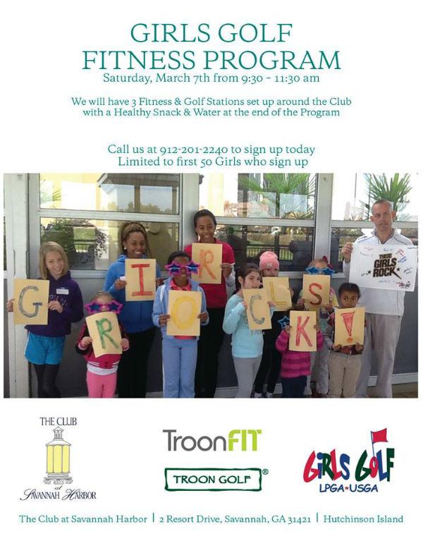 Free Girls Golf Clinic Savannah March 7 2015