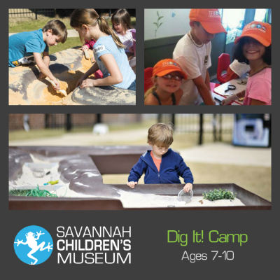 Archaeology Camp Savannah Children's Museum 2015