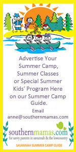 Advertise Savannah Summer Camps 2015