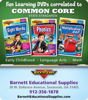Barnett Educational Supplies Savannah Common Core Comics