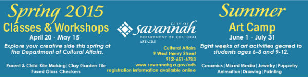 Kids Art Classes & Art Summer Camp with City of Savannah