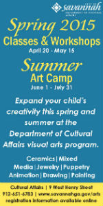 Kids Spring Art Classes & Art Camp City of Savannah