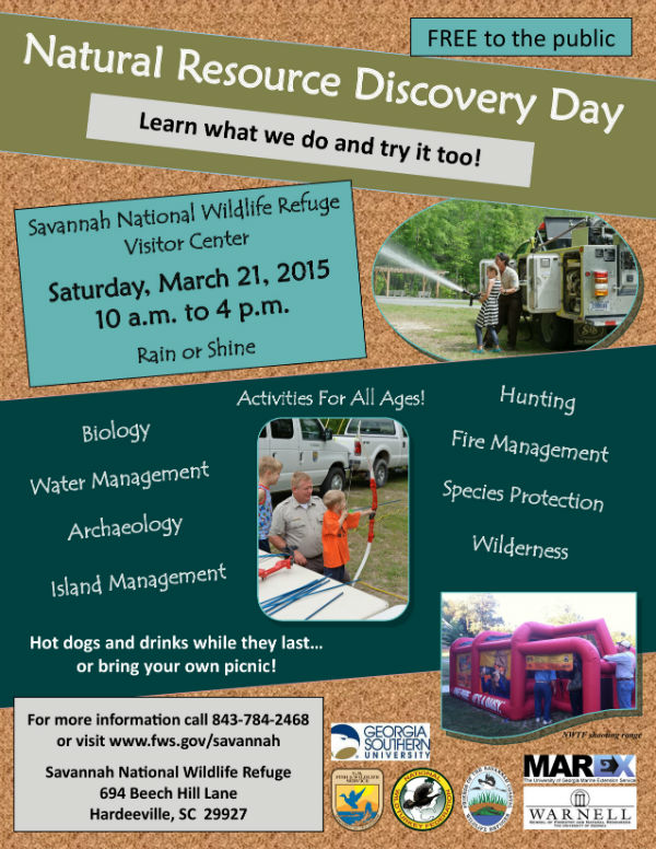 Free Natural resource discovery Day 2015 Savannah wildlife refuge