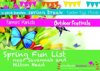 Spring Fun List 2015 Savannah Hilton Head Is.