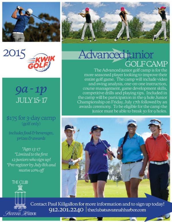 Golf Camp Savannah 2015