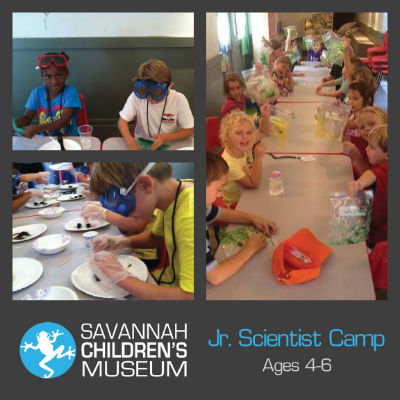 Science Camp at Savannah Children's Museum 2015