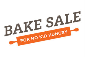 Bake Sale for no kid hungry Savannah Tummy Time Foods
