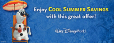 Disney Summer Deals 2015