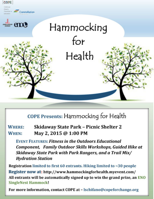 FREE Hammocking for Health COPE Savannah event