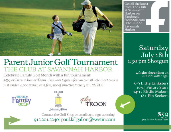 Parent Junior Golf Tournament Savannah