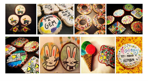 handpainted cookies Savannah birthday parties