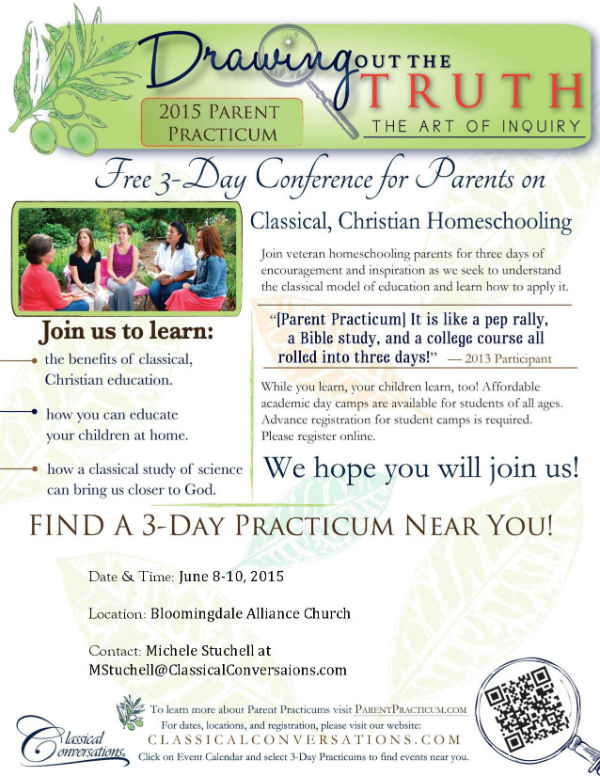 Homeschool help resources in Savannah Classical Conversations