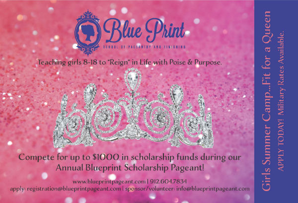 Blueprint Pageant Savannah FInishing School camp