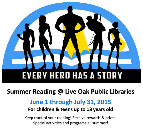 Summer Reading Program 2015 Live Oak Public Libraries Savannah Chatham Pooler