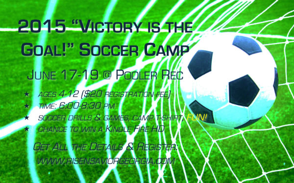 Soccer Camp 2015 Pooler