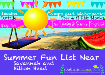 Summer Kids' Events Savannah Hilton Head