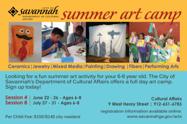 Summer Art Camps Savannah Full-Day