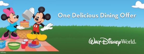 Disney Free Dining 2015