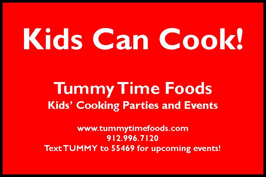 Savannah Cooking Baking Kids Classes, Parties, Playdates