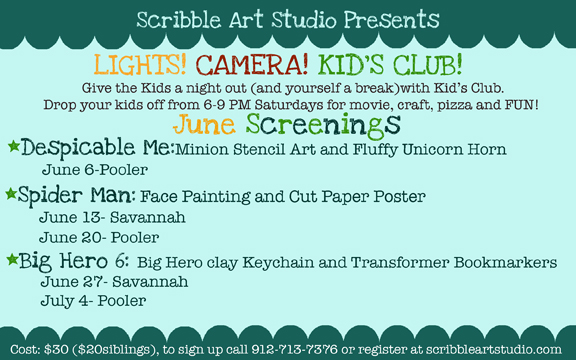 Kids Night Out Pooler Savannah