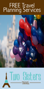 Free travel services Disney deals Two Sisters Travel