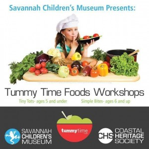 Tummy Time Foods workshops Savannah Children's Museum