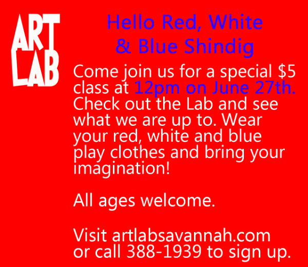 Art lessons for children Savannah ArtLab