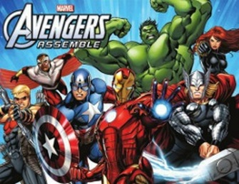 Avengers-themed Kids Night Tummy Time Foods Savannah