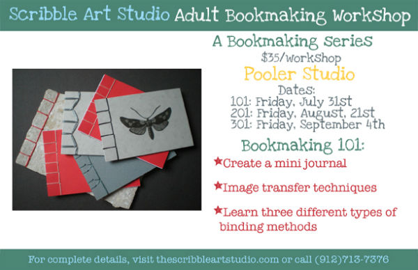 Adult Bookmaking Pooler Scribble Studio