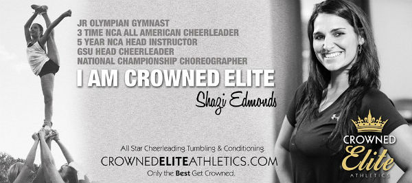 Crowned Elite Cheerleading for toddlers, preschoolers Savannah