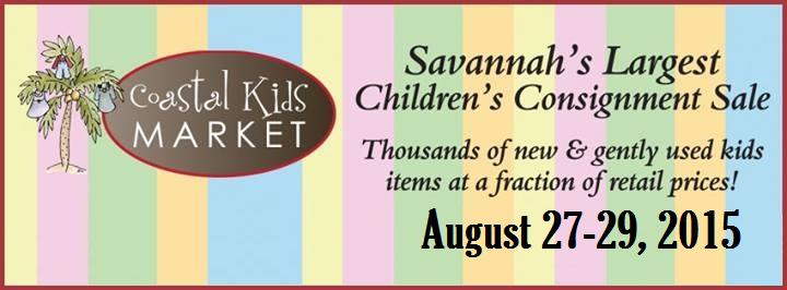 Coastal Kids Market consignment sale Savannah Fall 2015