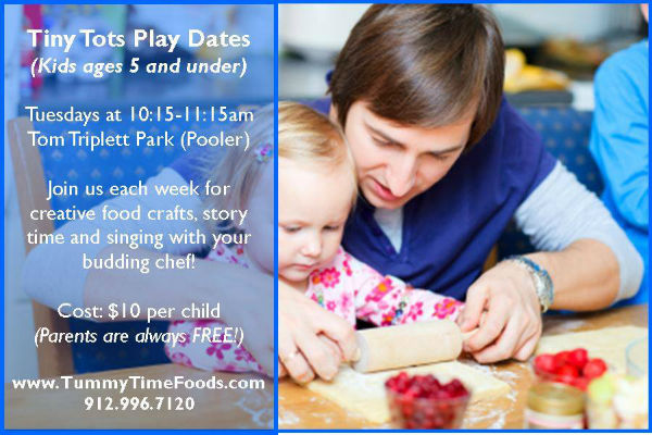 Food craft playdates Savannah Pooler Tummy Time Foods
