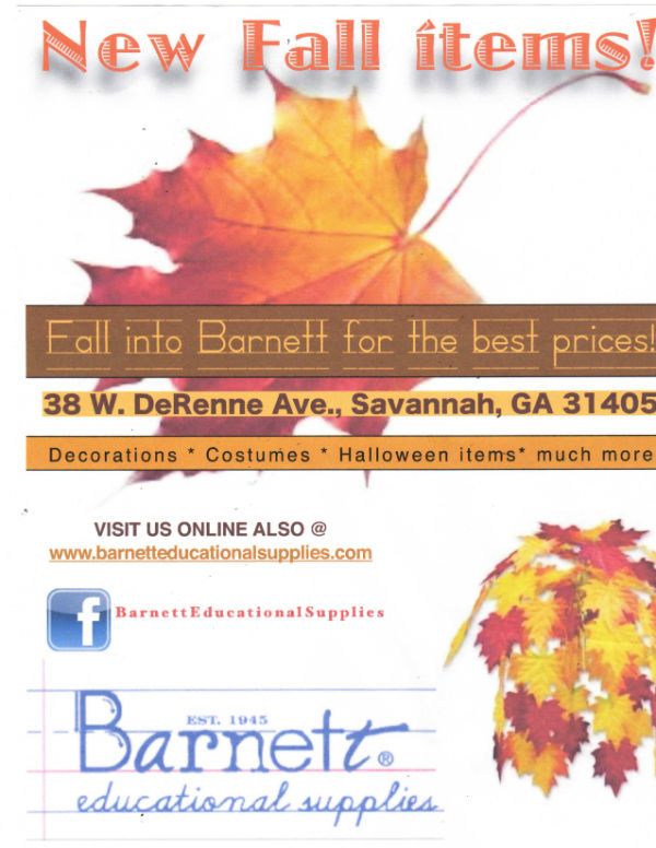 Fall decorations Halloween costumes Savannah Barnett Educational supplies