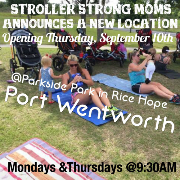 Stroller Strong Moms Stroller fitness class added in Port Wentworth