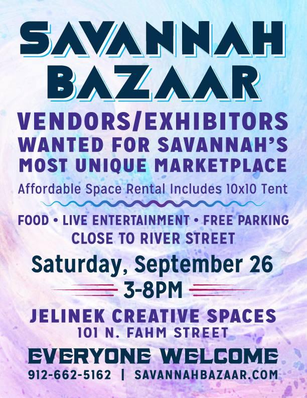 Savannah Bazaar 2015
