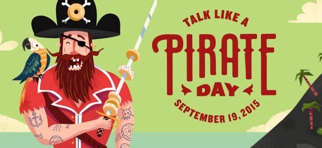 Talk like pirate day 2015 Krispy Kreme Savannah