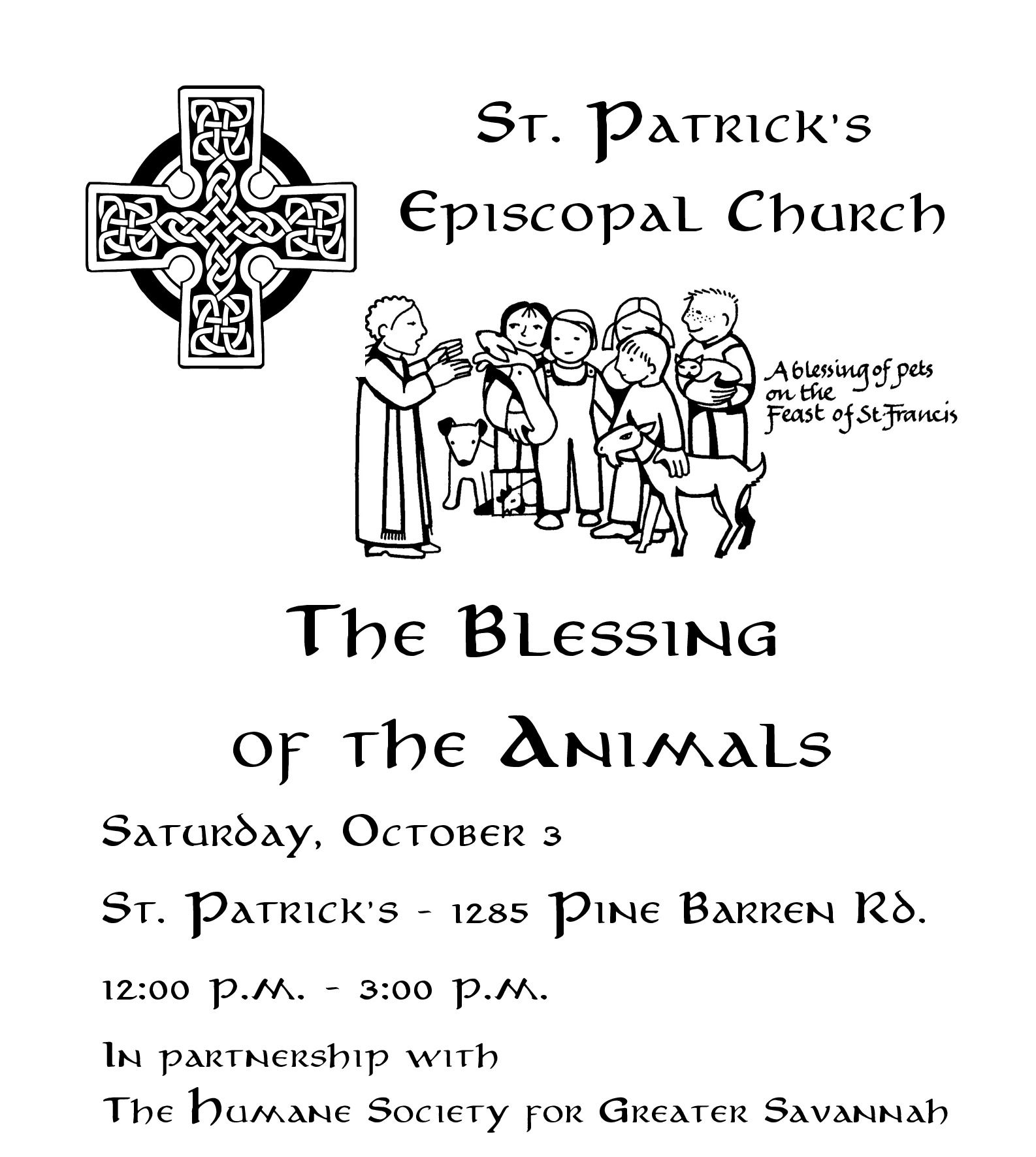 Blessing of the animals Savannah Pooler 2015