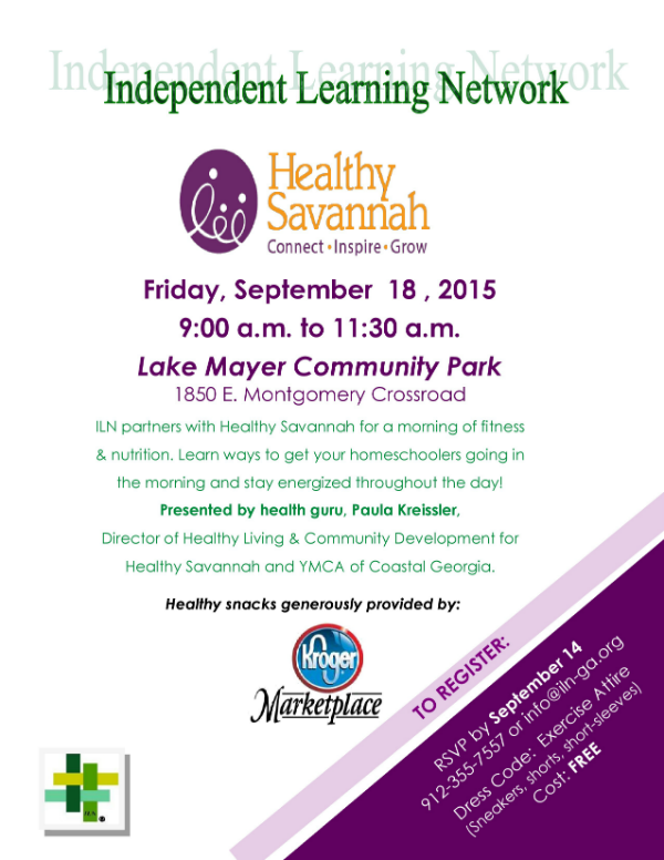 Healthy Savannah Savannah Homeschool ILN